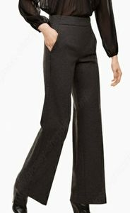 Wilfred Halley Pant Heather Charcoal